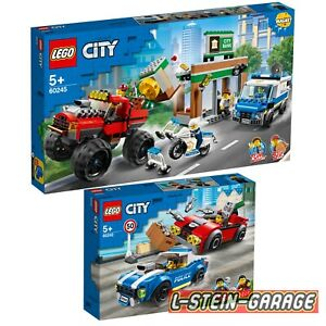 LEGO® City Polizei 2 Sets 60242+60245 NEU & OVP