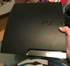 Sony PlayStation 3 Slim Launch Edition 160GB O.B.O - Black Console (CECH-2501A)