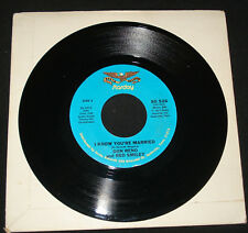 DON REMO RED SMILEY 45 - I KNOW YOU'RE MARRIED 1970s COUNTRY ON STARDAY
