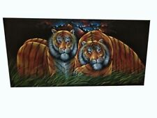 INDAIN HANDMADE LION  ANIMAL NEW GIANT POSTER WALL ART PRINT PICTURE