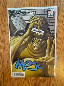 X-Men Black 1 Variant Edition - High Grade Comic Book - B62-121
