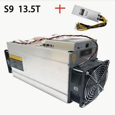 Bitcoin Miner/Ant Miner S9 13.5T Bitmain Mining Machine With Power Supply