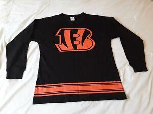 NFL Pink Victorias Secret Cincinnati Bengals Womens Small Sweatshirt 100% cotton
