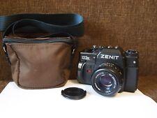 SLR camera ZENIT 122K MC Zenitar-K2 50mm f/2 bayonet K ( Pentax ) Lens KMZ