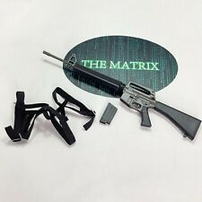16 Redman Toys The One Matrix  - Keanu Reeves - Rifle + Harnes