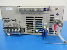 Omron S82D-6024 AC/DC Power Supply Single-OUT 24V 27A 600W
