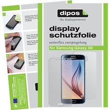 6x Samsung Galaxy S6 Schutzfolie matt Displayschutzfolie Folie Vorne und Hinten