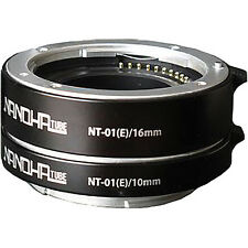 Yasuhara NANOHA Auto Extension 10mm & 16mm Tube Set for Sony NEX Mount