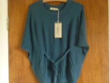 Cashmere Blend Patternless Poncho Jumpers & Cardigans for Women