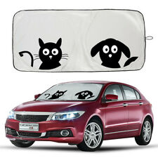 New Cartoon Car Windshield Sun Shade Front Window Visor UV Block Cover 59x33in