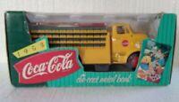 Vintage Coca-Cola Coke 1995 Ertl 1953 Die cast Metal Delivery Truck Bank B592