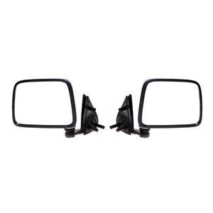 Chrome Door Mirror Set Fit Nissan Navara D21 Pathfinder DX Pickup Truck Hardbody