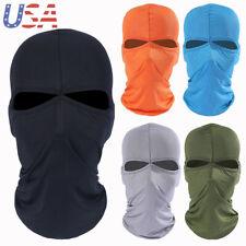 Summer -thin Balaclava Tactical Full Face Mask Motorcycle Cycling Neck Hood