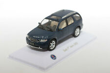 1:43 Saab 9-7x Aero (2005)| blaumetallic | Atlas Collection | Modellauto PKW SUV