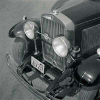 LaSalle Convertible Coupe 1930 model OLD CAR ROAD TEST PHOTO in 1956 4
