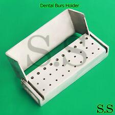 1 Piece 30 Holes Opening Dental Burs Holder Dental Instruments