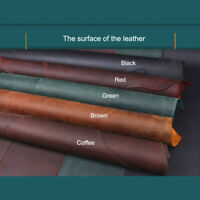 Cowhide Oil tanned Crazy horse leather craft Diy material retro Pull up style