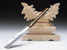 Medium Blade! Shave Ready! TAMAHAGANE NAGAMASA J*apanese Straight Razor #A-182