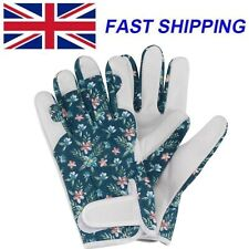 Briers Ladies Fleurette Smart Gardening Gloves Leather Padded Professional Women