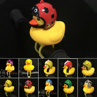 Duck Shape With Bell Riding Detachable Road Bike Bicycle Head Light Led Silicone