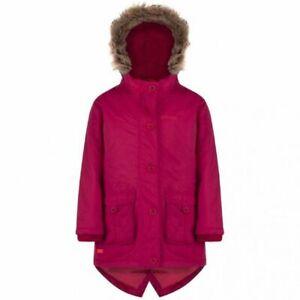 Regatta Totteridge Kids Girls School Parka Waterproof Jacket Age 15/16 RRP £70