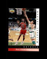 Michael Jordan/Clutch Player Card 1992-93 Upper Deck Jerry West Selects #JW9