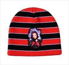 Chapeaux noir en acrylique pour fille de 2 à 16 ans
