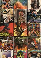 LOT OF 40 VARIOUS MARVEL, DC, IMAGE & INDY COMIC BOOKS FREE SHIPPING! NM +🔑.
