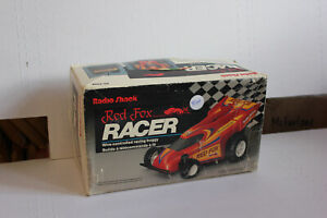 Radio Shack Red Fox Racer Wire controlled racing buggy remote control