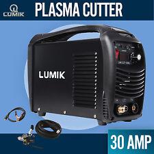 30A Lumik Plasma Cutter DC IGBT Inverter Welder Portable Gas/Air Cutting Display
