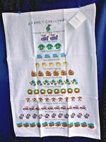 "A Family Christmas Kitchen Towel, 18"" x 26"" 100% Cotton New by David Price"