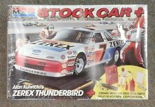 old Monogram NASCAR model # 7 Zerex Thunderbird Alan Kulwicki 2908 with extras