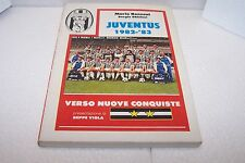 JUVENTUS 1982-83 - ronzoni, ghisleni - i grandi dello sport n°3 - FOR-VEM - sc40