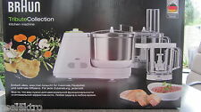 BRAUN KM3050 KM 3050 Küchenmaschine Weiß/Grün, 900 Watt, 2 Liter Neu Topseller