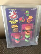 VINTAGE 1989 Kenner The REAL GHOSTBUSTERS RARE Finger Pop Fiends AFA 80/85/85