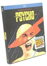 Psycho (Blu-ray Disc, 2016; Pop Art Series) NEW w/ Slipcover -Alfred Hitchcock