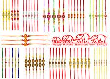 Rakhi Thread Raksha Bandhan Hindu Indian Festival Wrist Band Rakhadi Blue Rakhi