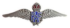 RAF Royal Air Force Sweetheart Wings Nickel Pin Badge - MOD Approved - M7