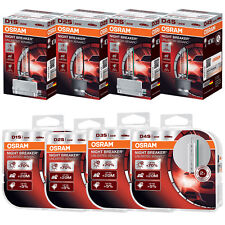 Osram Xenarc Night Breaker Unlimited Xenon HID Headlight Bulb - D1S D2S D3S D4S