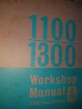 BMC 1100 1300 and RILEY KESTREL Workshop Manual