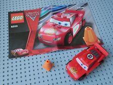 Lego Set 8200 Cars: Radiator Springs Lightning McQueen, Complete +Manual. No Box