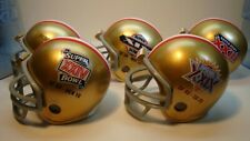 (5) San Francisco 49ers(Super Bowl) Riddell Pocket Pro Football Helmets