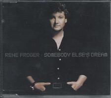 RENE FROGER - Somebody else's dream CD-MAXI 3TR HOLLAND 1999 (DINO) RARE!!