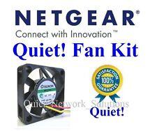Quiet Netgear GS748TS Fan, 12dBA Noise 1x Fan. Best for Home Networking!