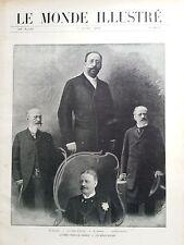 LE MONDE ILLUSTRE 1905 N 2518 LA CRISE FRANCO- ALLEMANDE