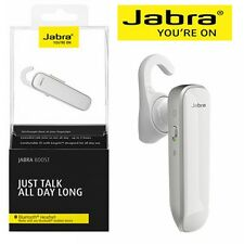 Wireless Bluetooth A2dp Headset Jabra Boost Mono Single Ear Earbud iPhone White