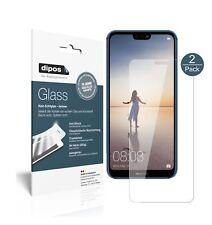 1+1x Huawei P20 Lite Schutzfolie - Panzerfolie 9H Folie dipos Glass