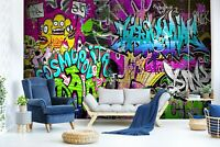 3D Color Graffiti R1095 Wallpaper Wall Mural Self-adhesive Commerce Amy