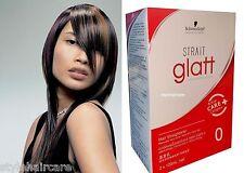 120g Schwarzkopf Glatt Permanent STRAIGHTENER Straight HAIR Cream STRONG XXL Box