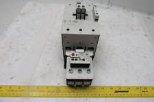 Eaton XTCE095F Contactor 95A 3 Pole W/C396B2A110SELXF Overload 120V Coil